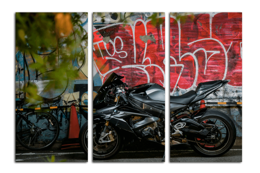 Модульная картина Мотоцикл BMW